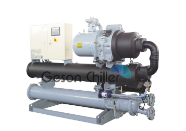 Geson 200ton Water cooled screw chiller