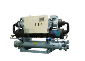 Geson Cascade 300ton Water cooled chiller -140~-30℃