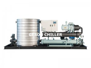 All-in-one integrated water cooled screw chiller