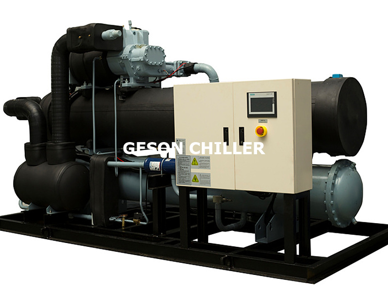 Cascade Water cooled chiller -75℃