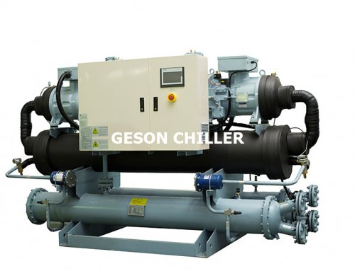 Cascade Water cooled chiller -55℃