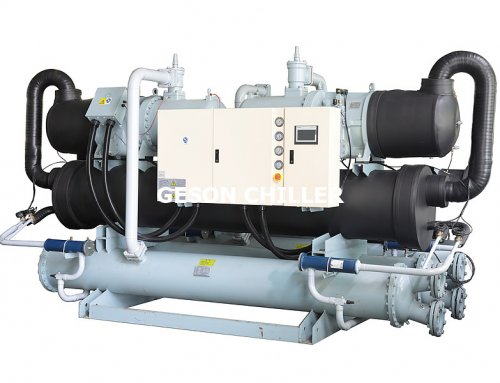 Water cooled screw chiller -5℃
