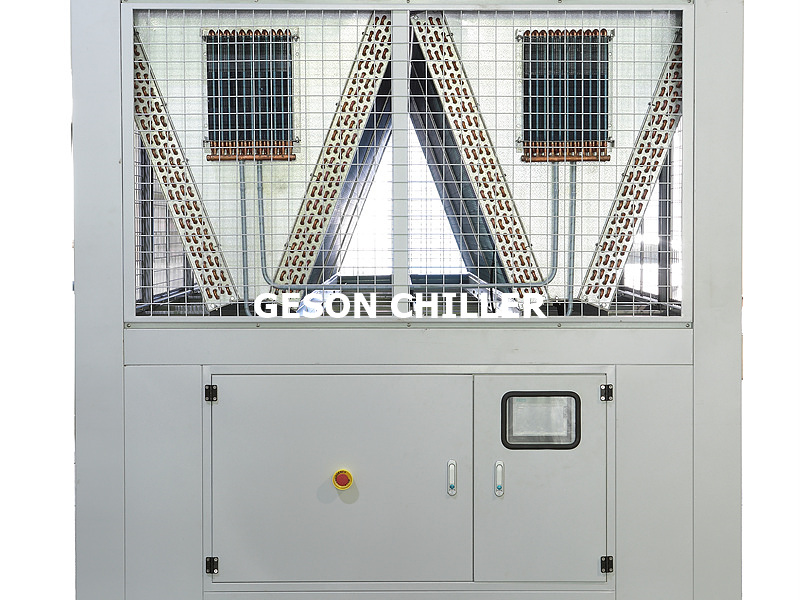 Evaporative cooled chiller