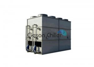 Counterflow water cooling tower