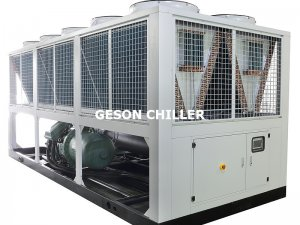 Figure 1 Air-cooled chiller