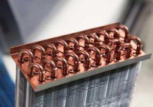Figure 9 Copper pipe condenser