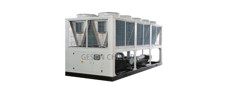 Air screw compressor chiller