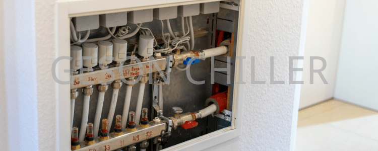Heat pump system construction