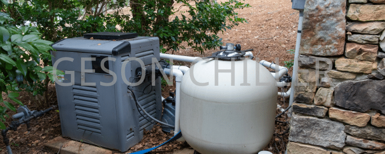 Pool pump and filtering equipment for maintaining a clean swimming pool