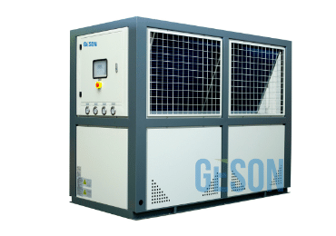 Air cooled scroll chiller unit