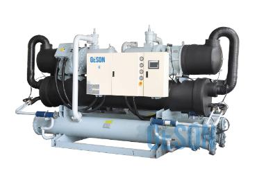 double compressor water screw chillers