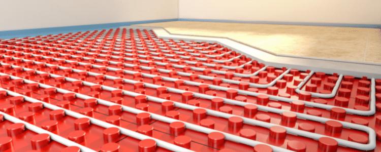 Air Source Heat Pump Underfloor Heating